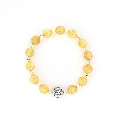 The Metal Element Citrine Stretch Bracelet
