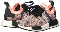 adidas Women's NMD_R1 Primeknit Trainers, Multicolour (Core Black/Clear Onix/Sun Glow), 5 UK 38 EU