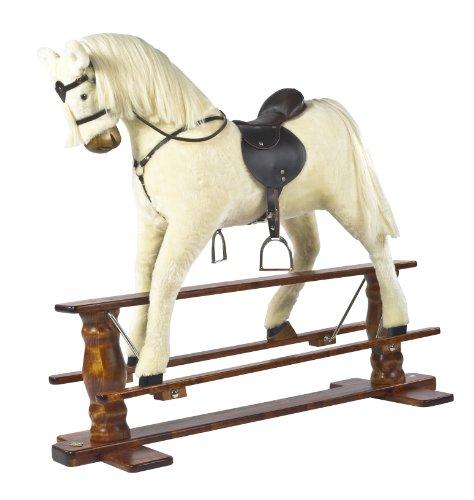 """Albino"" Luxurious Very Large Rocking Horse""Sun II"" MJMARK"