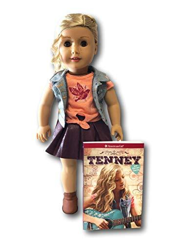 American Girl Tenney Doll and Paperback Book - 2017 Doll of the Year