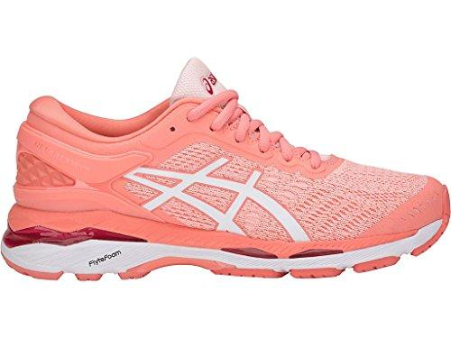 Asics Womens Gel-Kayano® 24 Shoes, 9 UK, Seashell Pink/White/Begonia Pink
