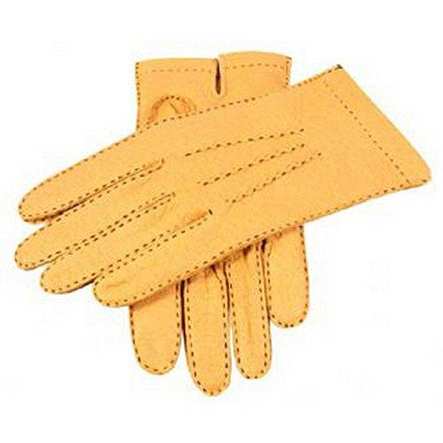 """Cork Handsewn Unlined Peccary Gloves - 9½ - Dents"""
