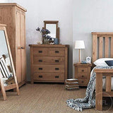 Cottage Solid Oak 2+3 Cofre de cajones