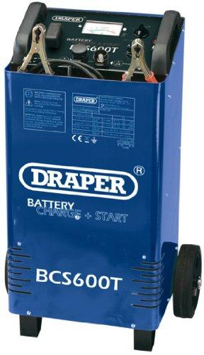 Draper 40181 Car Battery Starter/Charger 12/24 V 500 A with Trolley