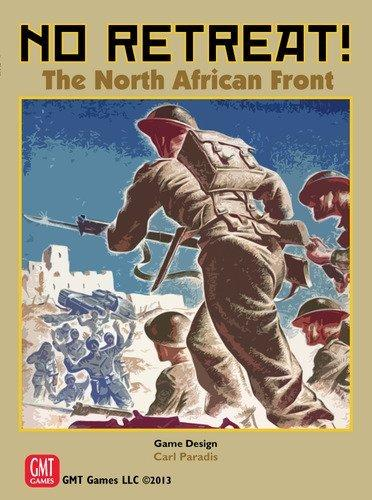 GMT Games No Retreat North African Front Deluxe Ed Board Game