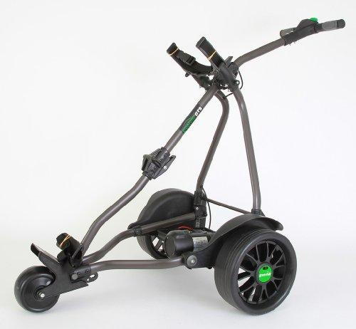 Greenhill GTS Skyline 36 Hole Lithium Electric Golf Trolley - Graphite