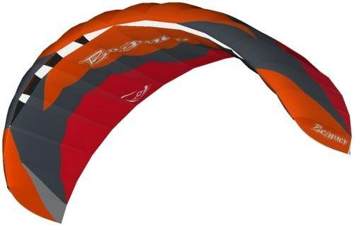 HQ Ready to Fly 4 Metre Beamer V Kite - Red