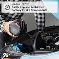 K&N 57-1500-1 Washable and Reusable Car Performance Intake Kit