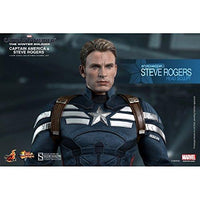 Marvel Hot Toys 1:6 Captain America and Steve Rogers Figure Set