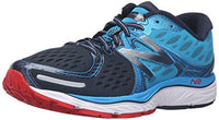 New Balance Men's M1260V6 Running Shoe, Blue/Dark Grey, 12.5 2E UK