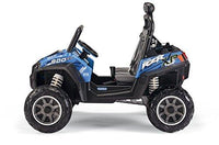 Peg Perego S.P.A OD0084 - Perego 12V Polaris Ranger RZR 900, vehicle, blue