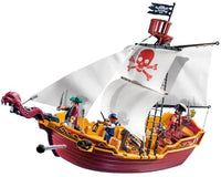 Playmobil 5678 Red Serpent Pirate Ship (74 pieces)