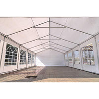Quictent 6X12M(20X40FT) Upgraded Galvanised Heavy Duty Marquee Waterproof Wedding Marquee Party Tent Large Maquee Event Shelter Garden Gazebo Metal Frame With Ground Bar