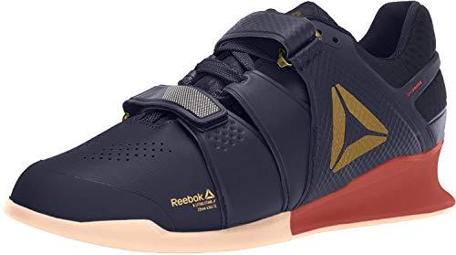 Reebok Legacy Lifter Shoe - Men's Weightlifting Heritage Navy/Rosette/Sun Glow