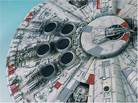 Star Wars Millennium Falcon Japanese Collectible 1/72-Scale Model Kit [Toy]