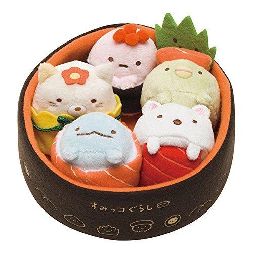 Sumikko Gurashi Plush Sushi Toy(Japan Imported)