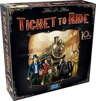 Ticket To Ride 10th Anniversary Edition Board Game