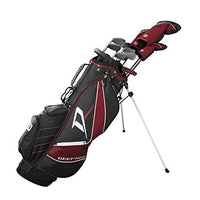 Wilson Golf Men's Right Hand Package Set, Red/Silver, Regular