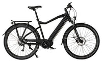 Witt E1050 Electric Bike, Allround E-Bike in Nordic Slim Design with Powerful 36 V/11.6Ah Lithium Panasonic 417,6 W in Frame Battery, Alivio 9 Speed Gear, Front Suspension and 250W Mid Motor
