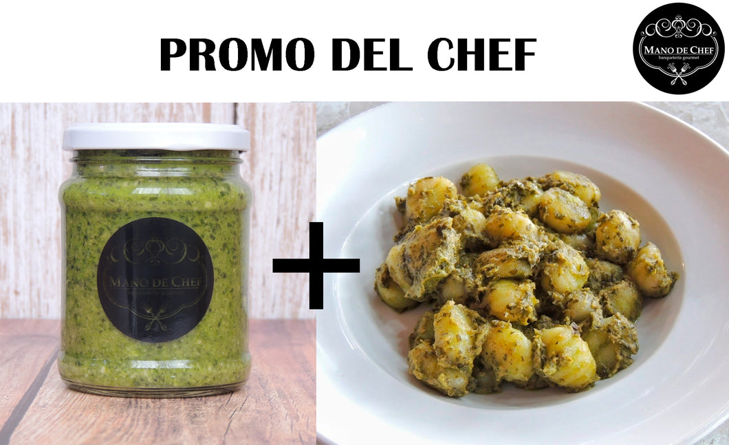 Pack Ñoquis Pesto