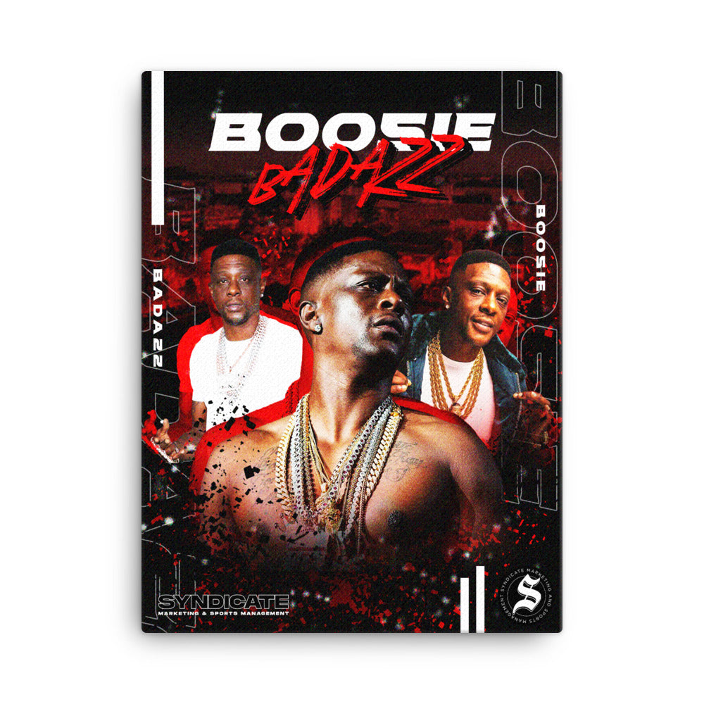 Syndicate Boosie Wall Canvas