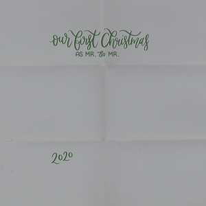 Merry Christmas Card Overlay