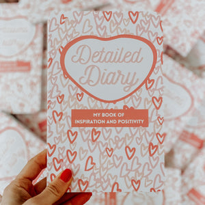 Detailed Diary Journals