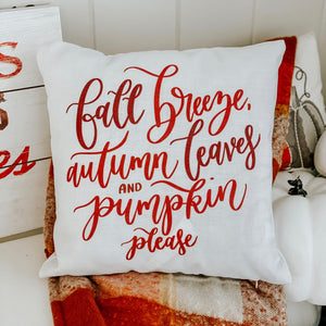 Autumn Breeze Pillow