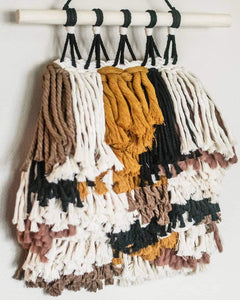 Chunky Woven Wall Hanging