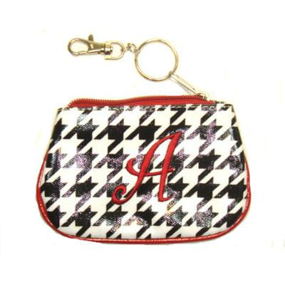 Chevron Initial Coin Purse