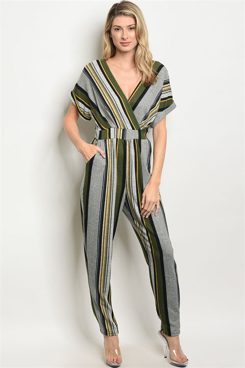 Aria V-neck Jumpsuit