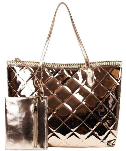 Metallic Fashion Handbag