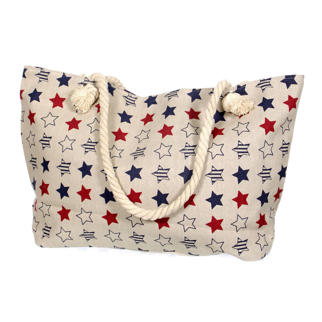 Multi Stars Beach Bag