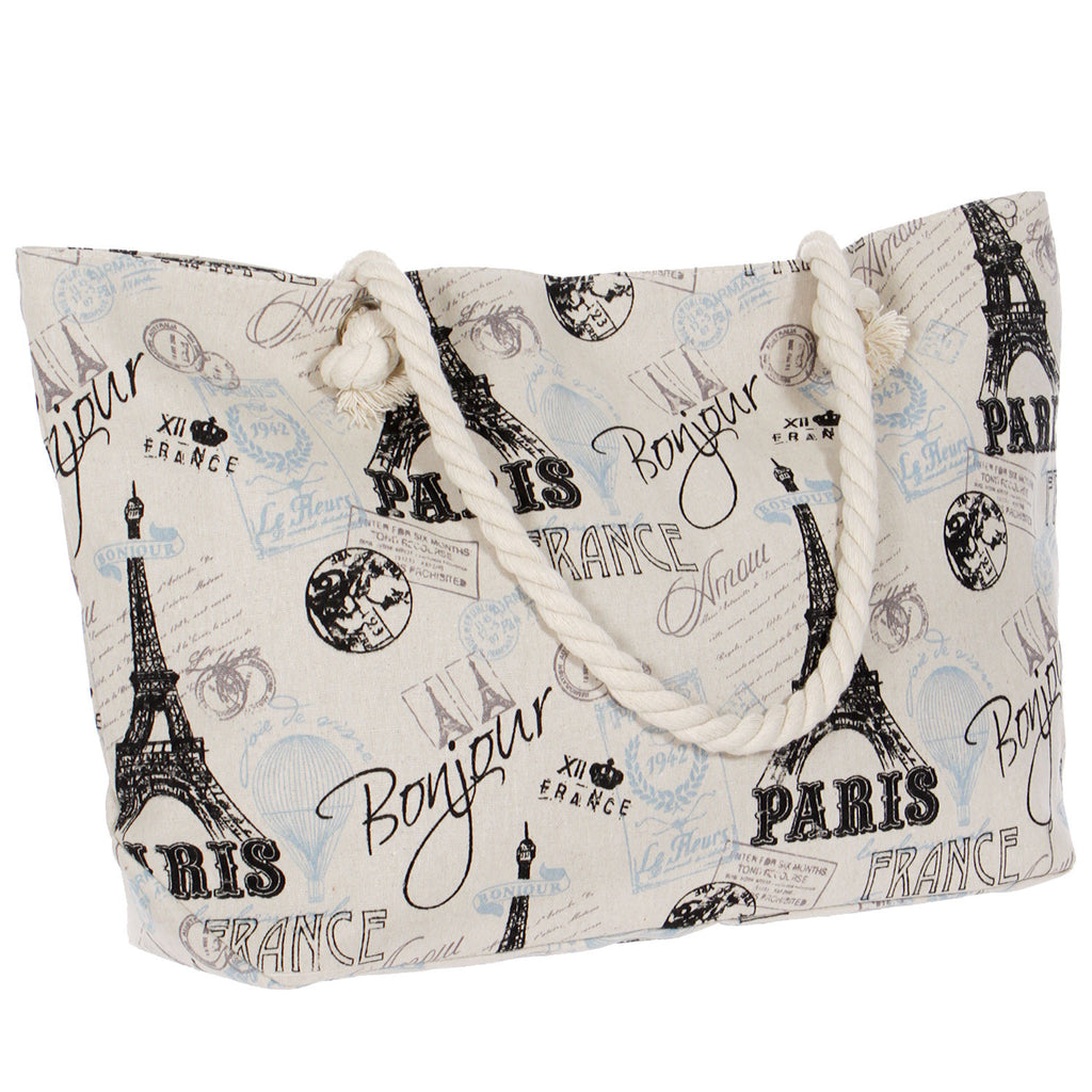 Paris Canvas Bag