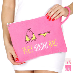 Hot Pink Bikini Bag