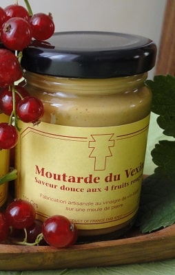 Moutarde du Vexin aux 4 Fruits Rouges