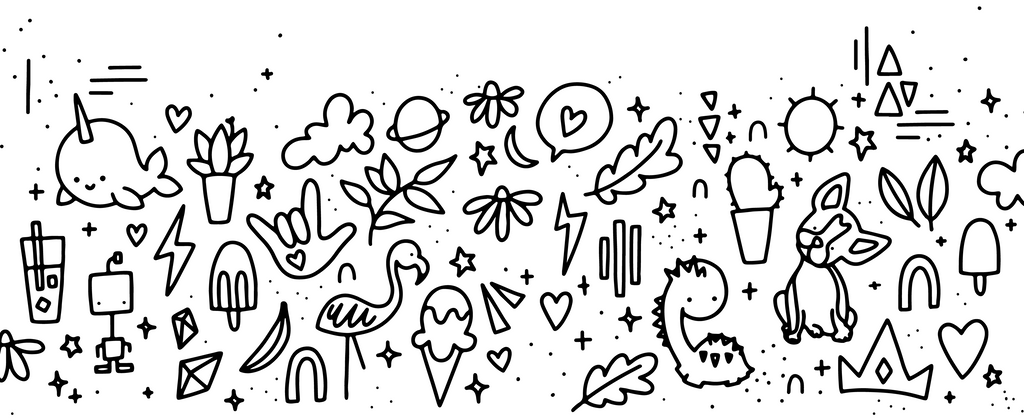 A rad and happy pattern