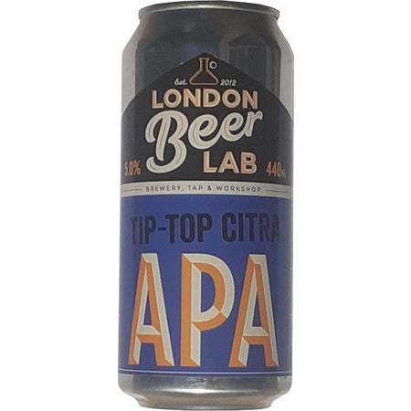 London Beer Lab: Tip Top Citra American Pale Ale: 440ml - Guzzl
