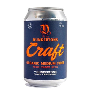 Dunkertons Cider: 330ml can - Guzzl