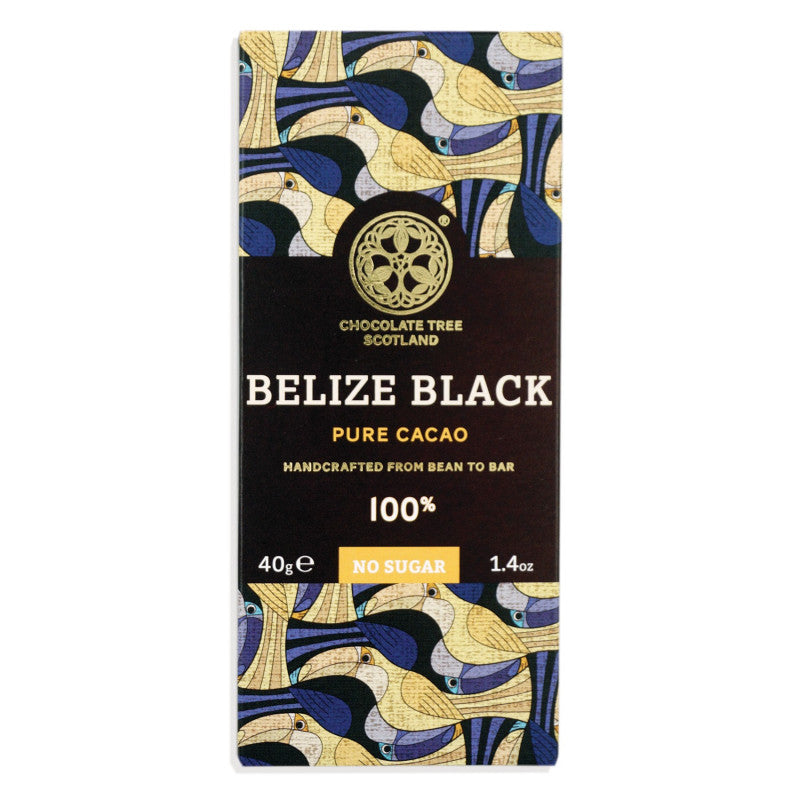 Chocolate Tree Belize Black 100% (40g) - Guzzl