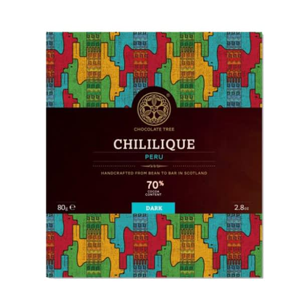 Chocolate Tree Peru Chililique 70% (80g) - Guzzl