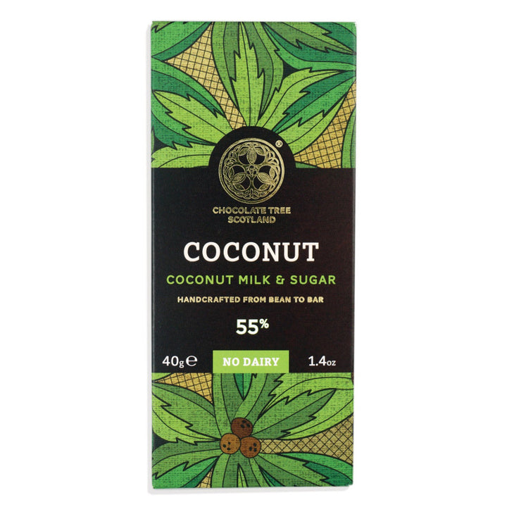 Chocolate Tree Coconut (Vegan Milk Alternative) 55% (40g) - Guzzl