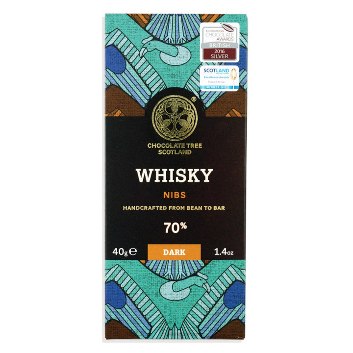 Chocolate Tree Whisky Nibs 70% (40g) - Guzzl