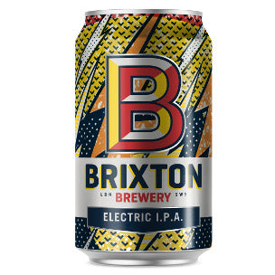 Brixton Brewery Electric IPA - 300ml can - Guzzl