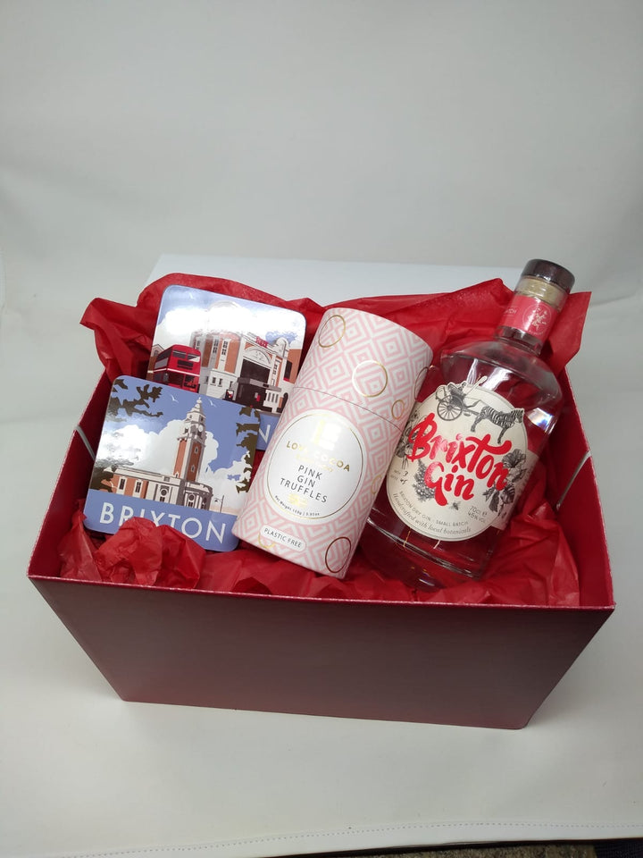 Say it with Brixton Gin hamper! - Guzzl