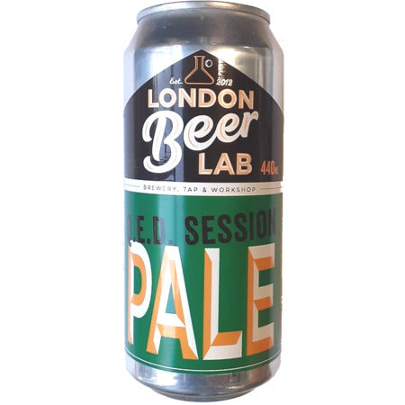 London Beer Lab: QED Session Pale Ale: 440ml - Guzzl
