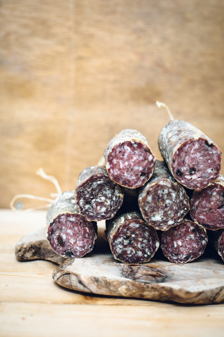 Crown & Queue Mother's Ruin salami (135g) - Guzzl