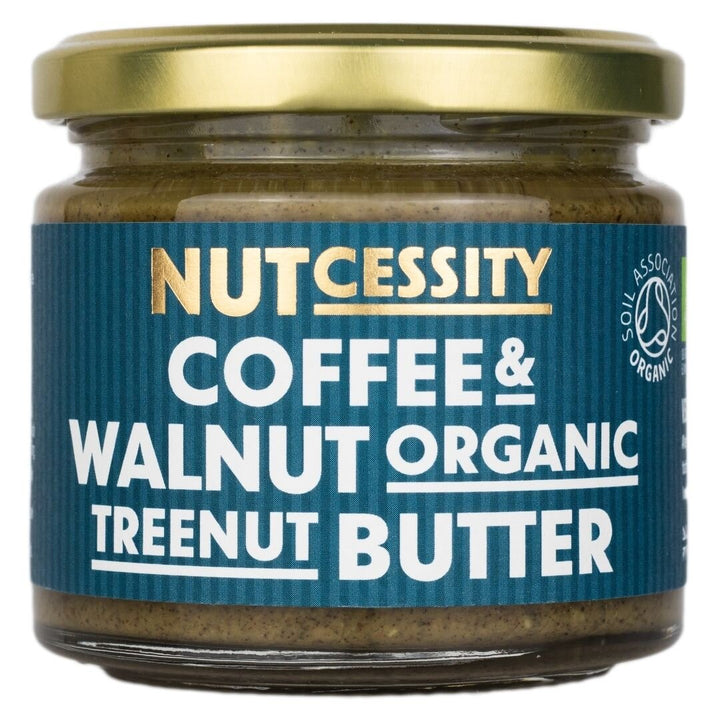 Nutcessity Coffee & Walnut Organic Nut Butter (180g) - Guzzl