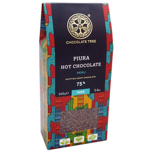 Chocolate Tree Hot Chocolate Piura 75% (160g) - Guzzl