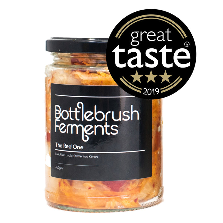 Bottlebrush Kimchi - the red one (LOCAL DELIVERY ONLY) - Guzzl